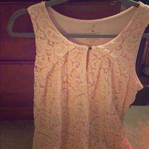 Pink blouse NY&company